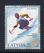 LATVIA 2002 PARALYMPIC GAMES - Invierno 2002: Salt Lake City - Paralympic