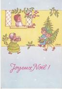 REF68 JOYEUX NOEL 4 ENFANTS DU HOUX SIGNÉE S.MAUDET - Christmas