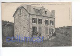 (n°430) CPA 22 Bretagne ETABLES Sur Mer Villa Des Grottes Colonie Le Grand Air   (tres Belle) - Etables-sur-Mer