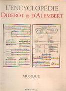 «Musique » (Encyclopédie Diderot Et D'Alembert) - Ed. Mame, Tours (2002) - Musique & Instruments