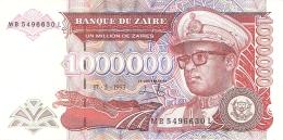 ZAIRE   1,000,000 Zaires   17/05/1993   Sign.9   HdMZ   P. 45b - Zaïre