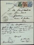 Germany-1906-DR Ganzsache Mi. P63, ULM A.D.D. 20.6.1906 - Gossau. - Entiers Postaux