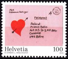 SWITZERLAND 2014, 125 Years SWISS POSTAL SERVICE, COMPLETE, MNH SET, GOOD QUALITY, *** - Switzerland