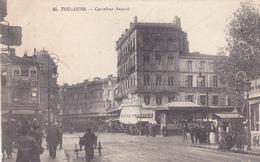 31. TOULOUSE. CPA TRÈS RARE. ANIMATION CARREFOUR BAYARD. ANNÉE 1911 - Toulouse