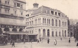 ALGERIE. ALGER. CPA.  GRAND CAFÉ D'ALGER. LE THÉÂTRE MUNICIPAL. - Algerien