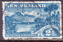 NEW ZEALAND 1906 SG 320 2½d Used Wmk Blue Perf.14 - 1855-1907 Crown Colony