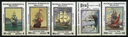 Madagascar ** N° 877 à 871 - Tableaux De Navires - Madagascar (1960-...)