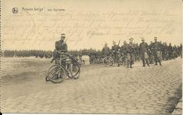ARMEE BELGE     LES CYCLISTES    (feldpostamt  1915) - Militari