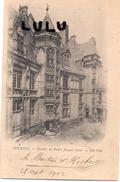 DEPT 18 : édit. N D N° 4 Précurseur ; Bourges Escalier Du Palais Jacques Cœur - Bourges