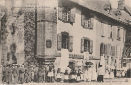 15 - SALERS - Procession De La Fête-Dieu - Other Municipalities