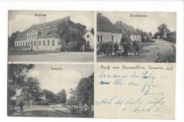 16428 - Gruss Aus Zarrenthin Leussin Dorfstrasse - Pommern
