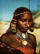 Carte Postale -  Erythrée  -   Beauté Kunama - Eritrea