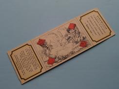 RUITEN VIER Kaartspel / Standaard Boekhandel  ( ) Anno 19?? ( Zie Foto Voor Details ) !! - Marque-Pages