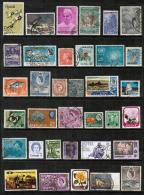 BRITISH COMMONWEALTH---Collection Of USED DL-326