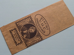 VAN DER CRUYSSEN'S Extra PEPERMUNT-SNUIF - DEYNZE  ( Papieren Zakje 15 X 6 Cm. ) Anno 19?? ( Zie Foto Voor Details ) !! - Autres Collections