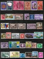 BRITISH COMMONWEALTH---Collection Of USED DL-332