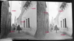 Six Plaques Stereo Neg 7x13, Maroc : Divers (dont Pied Du Pont Suspendu Ben Abbou), Début 19e  (B513-2, Mar9) - Agriculture