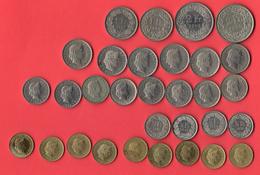 Suisse, Lot De 31 Monnaies - Suisse