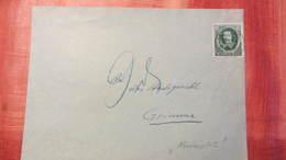 DR 33-45: Brief Mit 6 Pf Guericke EF Mit Nachgebühr Von 9 Pfg (6 Pf Fehlten) Vom 30.5.36 Knr: 608 - Briefe U. Dokumente