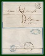 Ingouville (74) T15 5/5/ 1840 Tm8 > Beaune T12 Belle Frappe (ind 11) - 1801-1848: Précurseurs XIX