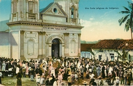 Guatemala : Fiesta Religieuse - Guatemala