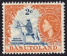 Basutoland 1961 2c SG71 - Mint - Basutoland (1933-1966)