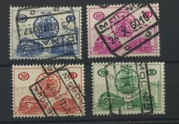 1960   CF369/372 Ø    La Bonne Série Oblitérée  Cote 130 Euros - 1952-....