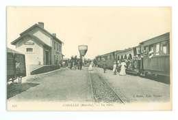 50 -- CAROLLES -- La Gare