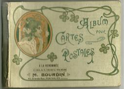 Album Pour 24 Cartes Postales  A La Renommée Chaussures M Bourdin Pontarlier - Pontarlier