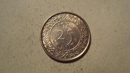 MONNAIE SURINAME 25 CENTS 1974 - Surinam 1975 - ...