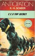 FNA 840 - SCHEER, Karl-Herbert - C.C. 5 Top Secret (BE) - Fleuve Noir