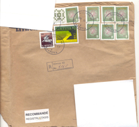 2002. Lithuania, The Letter Sent By Registered Post To Moldova
