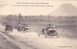 CPA Animée (63) Circuit D' Auvergne Coupe Gordon-Bennett 1905 N° 11 La Route Du Circuit Après La BARAQUE - Zonder Classificatie