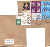 2001. Lithuania, The Letter Sent By Registered Post To Moldova - Litauen