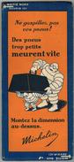 """CARTE ROUTIERE MICHELIN : """" N° 80 Rodez Nimes """" V° Des Pneus Trop Petits Meurent Vite N° 8 11 307 4 293 36 - Roadmaps"""