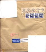 2002. Lithuania, The Letter Sent By Registered Post To Moldova - Litauen