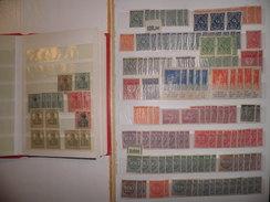 ALLEMAGNE, Weimar, Reich. Lot Petit Stock Neufs ** Dans 2 Classeurs. Cote 2000 €