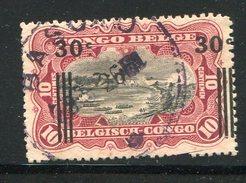 CONGO BELGE- Y&T N°89- Oblitéré - 1894-1923 Mols: Usados