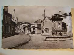 Cp1300 E12  AMBONNAY Place De La Fontaine Rue De Bouzy 1958 ( GT GOULET) - Autres Communes