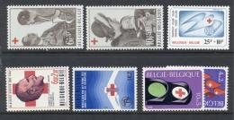 België - 7 Rode Kruis Zegels MNH - België