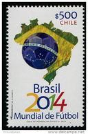 Chile (2014) - Set -  /  Soccer - Futbol - Calcio - Football - FIFA World Cup Brazil - Brasil - 2014 – Brazil