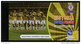 Colombia (2014) - Booklet - LIMITED EDITION  /  Soccer - Futbol - Calcio - Football - FIFA World Cup Brazil - Brasil - 2014 – Brazil