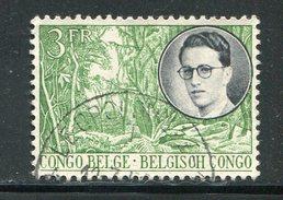 CONGO BELGE- Y&T N°334- Oblitéré - Congo Belge