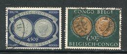 CONGO BELGE- Y&T N°327 Et 328- Oblitérés - Congo Belge