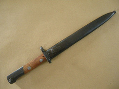 Baïonnette Mauser 98K Yougoslave Mle 44 En Superbe état. - Blankwaffen
