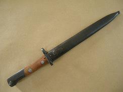 Baïonnette Mauser 98K Yougoslave Mle 44 En Superbe état. - Armes Blanches