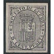 ES0141SD-LFT***141TAN.España.Spain . Espagne.ESCUDO   DE ESPAÑA.(Ed141**) - 1873 1ª República