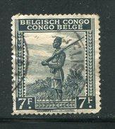 CONGO BELGE- Y&T N°244A- Oblitéré - 1923-44: Oblitérés