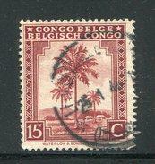 CONGO BELGE- Y&T N°250- Oblitéré - 1923-44: Oblitérés