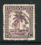 CONGO BELGE- Y&T N°232- Oblitéré - 1923-44: Oblitérés